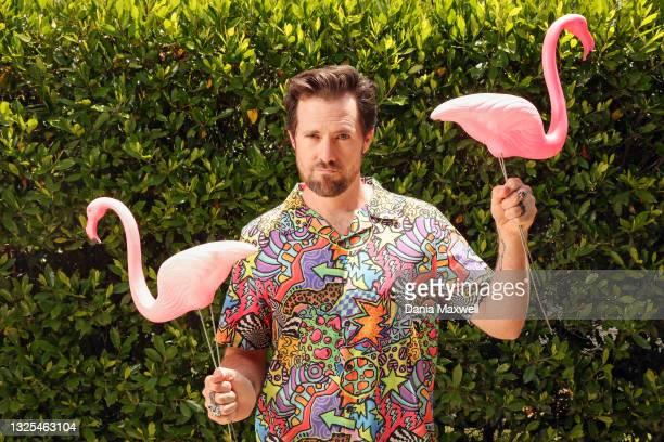 Former Walt Disney Imagineer, Morgan Richardson is photographed for Los Angeles Times on June 6, 2021 in Altadena, California. PUBLISHED IMAGE....