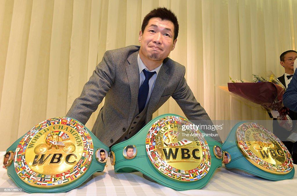 Boxer Hozumi Hasegawa Announces Retirement : News Photo