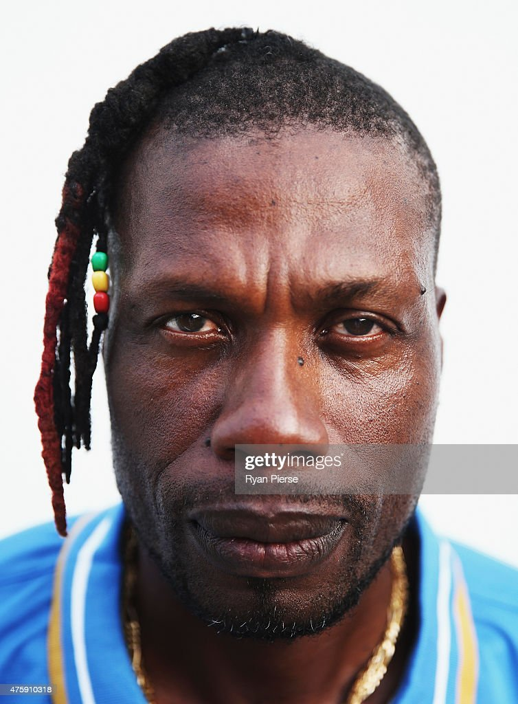 Former West Indies Cricket Player Curtly Ambrose Poses During A Portrait Session On June 4