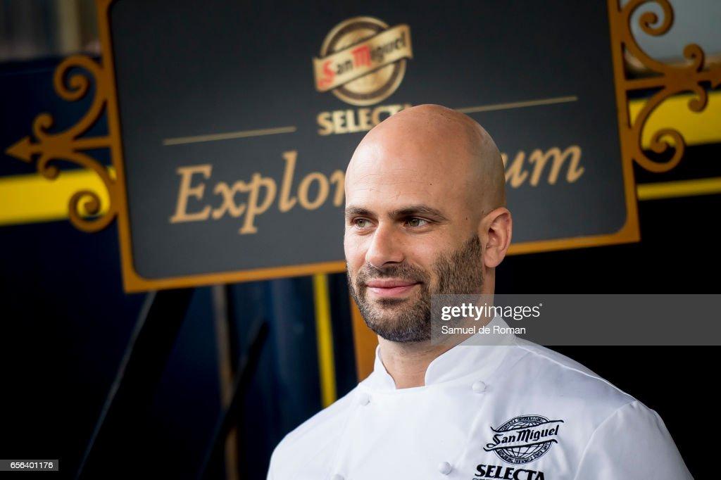 Obama's Chef, Sam Kass, Presents 'Exploratorium' : News Photo