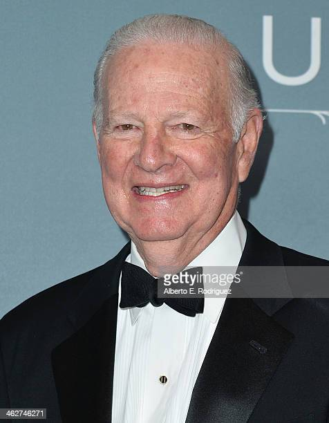 Former White House chief of staff James A Baker III arrives to the 2014 UNICEF Ball Presented by Baccarat at the Regent Beverly Wilshire Hotel on...