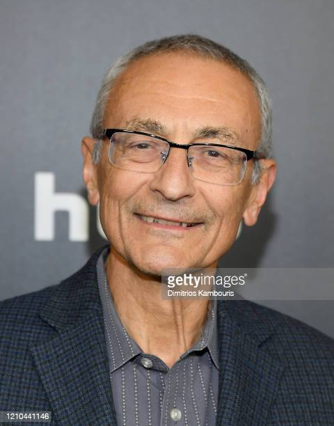 Former White House Chief of Staff John Podesta attends Hillary New York Premiere at Directors Guild of America Theater on March 04 2020 in New York...