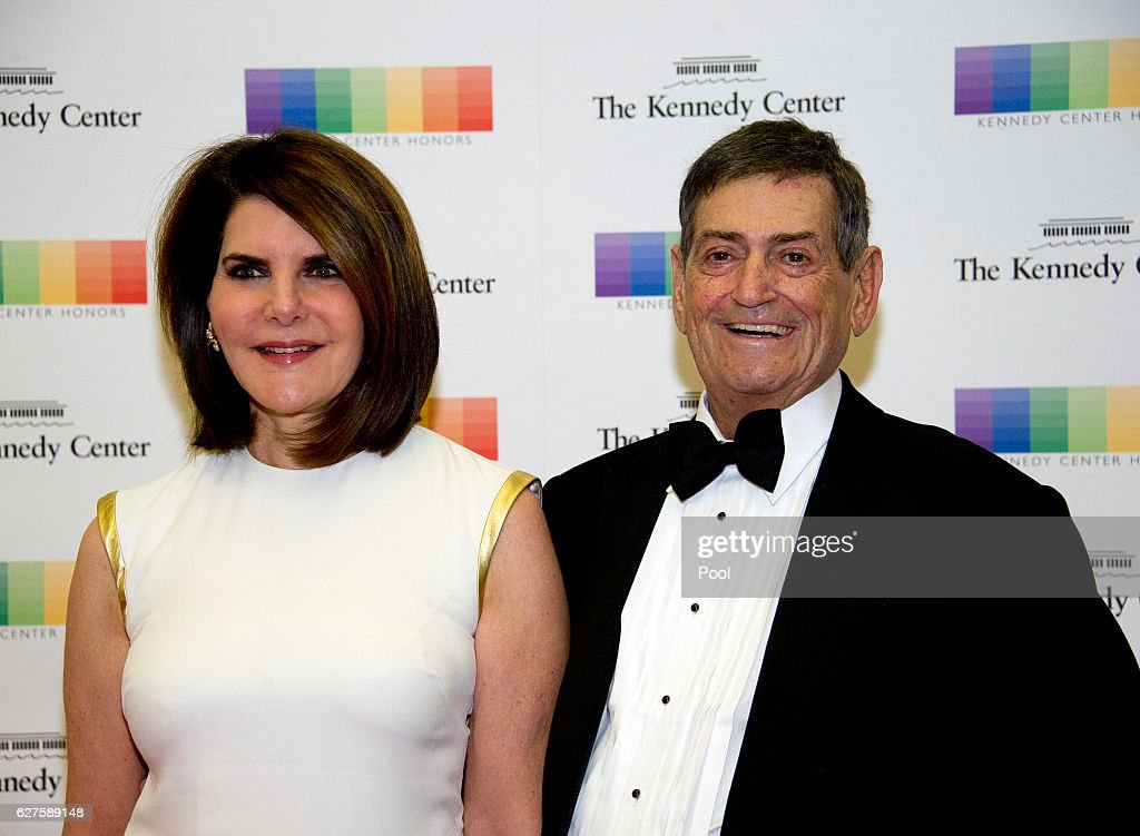 Former White House Chief of Staff (Reagan) Kenneth Duberstein and his wife, Jacqueline, arrive for the formal Artist's Dinner honoring the recipients of the 39th Annual Kennedy Center Honors hosted by United States Secretary of State John F. Kerry at the U.S. Department of State on December 3, 2016 in Washington, D.C. The 2016 honorees are: Argentine pianist Martha Argerich; rock band the Eagles; screen and stage actor Al Pacino; gospel and blues singer Mavis Staples; and musician James Taylor.