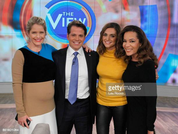 THE VIEW Former White House Communications Director Anthony Scaramucci hosts GuyDay Friday Friday 9/22/17 on ABC's 'The View' 'The View' airs...