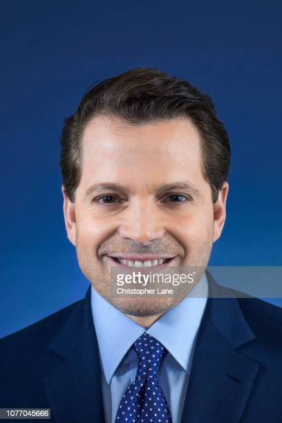 Former White House Communications Director Anthony Scaramucci is photographed for The Guardian Newspaper on May 18 2018 in New York City