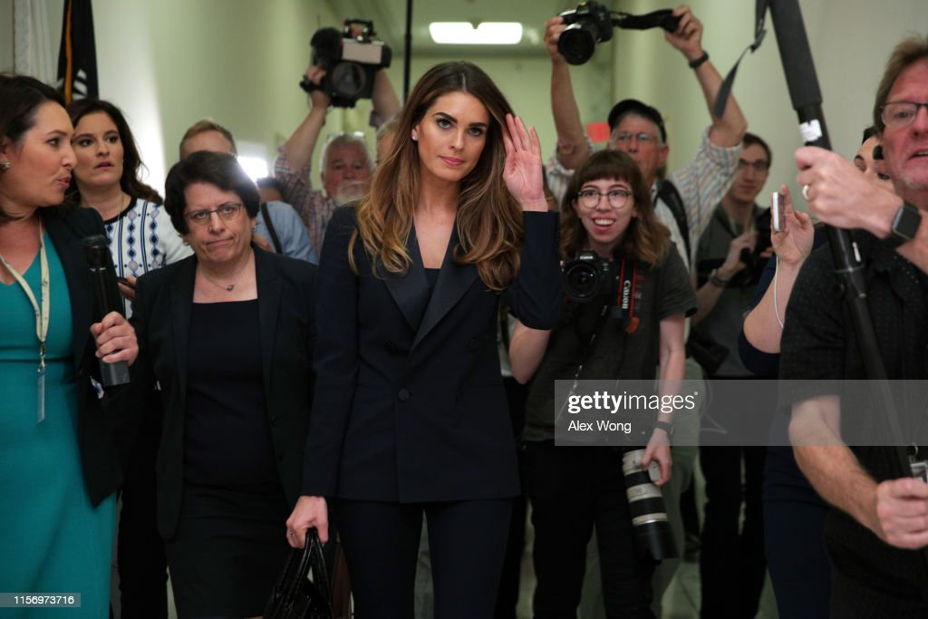 Former White House Communications Director Hope Hicks Testifies Before The House Judiciary Committee Behind Closed Doors : News Photo