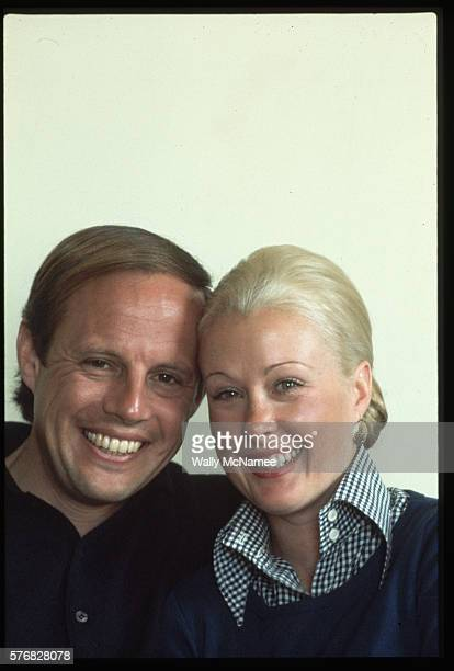 Former White House Counsel John Dean and wife Maureen pose for a portrait The Deans trying to avoid the press and others were in seclusion on the...