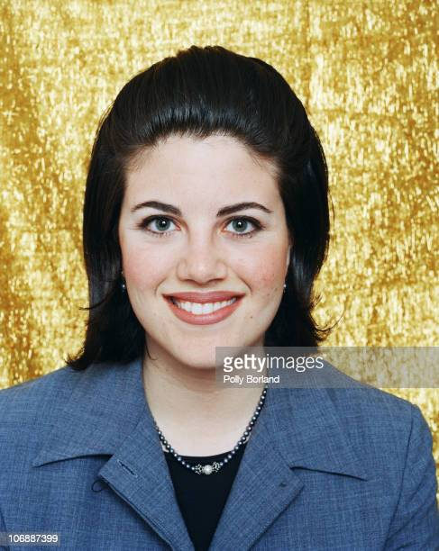 Former White House intern Monica Lewinsky poses for a portrait shoot in London 2nd October 2000