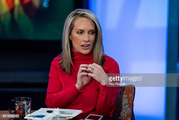 Former White House Press Secretary Dana Perino sits on the panel of Fox News Channel's The Five as pundit Bob Beckel rejoins the show at FOX Studios...