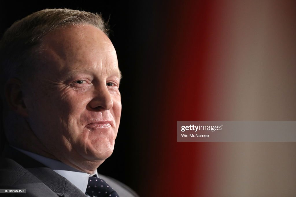 Sean Spicer Discusses His New Book At The National Press Club