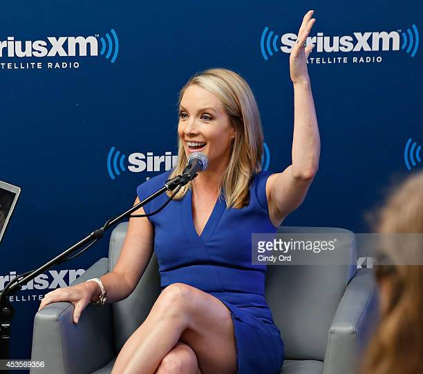 Former White House Press Secretary/ TV personality Dana Perino answers questions during the 'SiriusXM Leading Ladies' series hosted by SiriusXM...