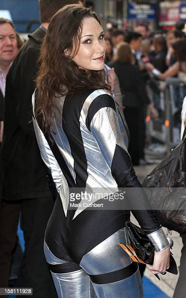 Former Wife Of Thierry Henry Claire Merry Arrives For The Uk Film Premiere Of Star Trek At The Empire Leicester Square London