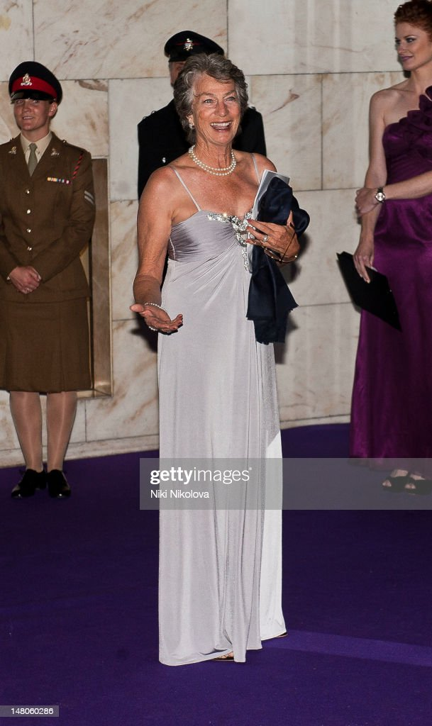 Former Wimbledon Ladies' Champion Virginia Wade attends the Wimbledon Championships Winners Ball at InterContinental Park Lane Hotel on July 8, 2012 in London, England.