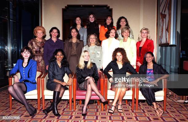 Former winners of Miss World at a reception at the London Hiton Hotel in central London, to mark 50 years of the beauty pageant. This year's contest...