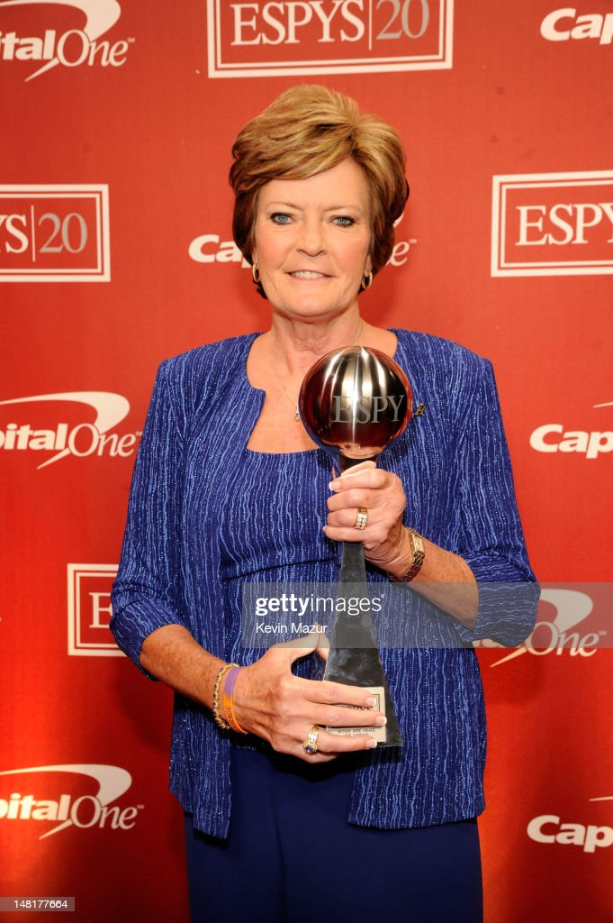 Former women's basketball coach Pat Summitt attends the 2012 ESPY Awards at Nokia Theatre L.A. Live on July 11, 2012 in Los Angeles, California.