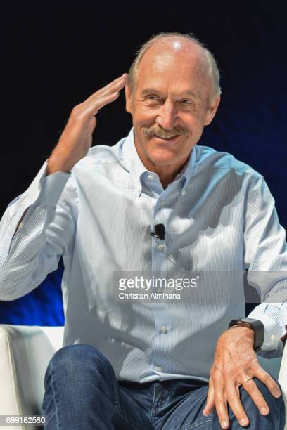 Former World Number 1 American tennis player Stan Smith attends the Cannes Lions Festival 2017>> on June 21 2017 in Cannes France