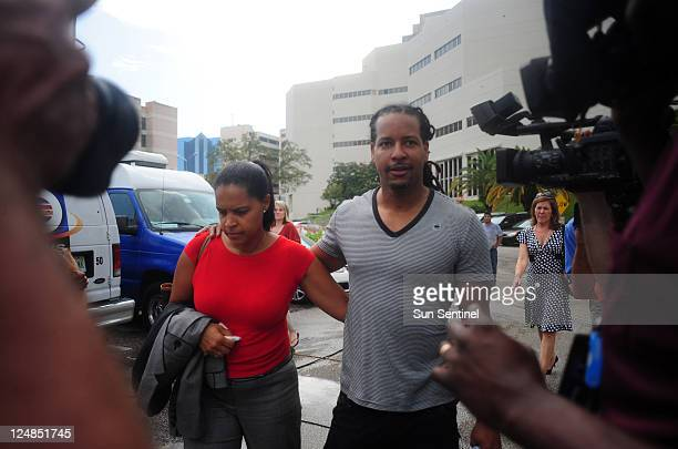 Former World Series MVP Manny Ramirez leaves the Broward County main jail Tuesday September 13 after authorities arrested him for allegedly slapping...