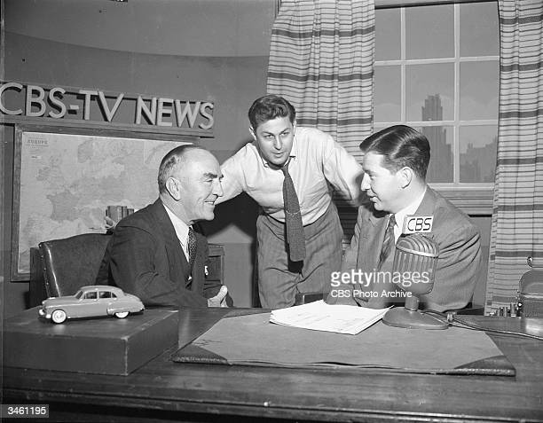 Former World War I fighter pilot and airline executive Eddie Rickenbacker American news producer Don Hewitt and broadcast journalist Douglas Edwards...