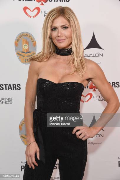 Former WWE Diva Torrie Wilson at the Heroes for Heroes Los Angeles Police Memorial Foundation Celebrity Poker Tournament at Avalon on September 10...