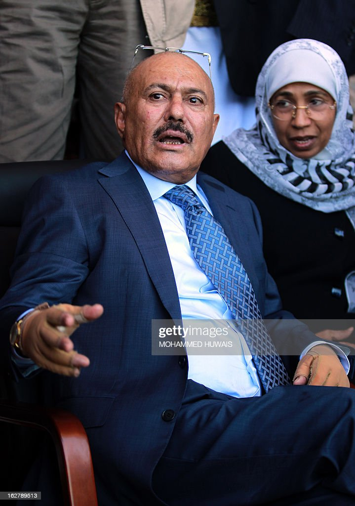 YEMEN-POLITICS-SALEH : News Photo