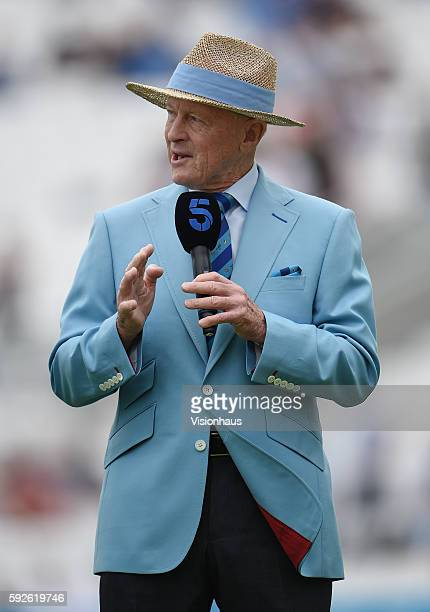 Former Yorkshire and England batsman Geoffrey Boycott during the third day of the fourth Investec test match between England and Pakistan at The Kia...
