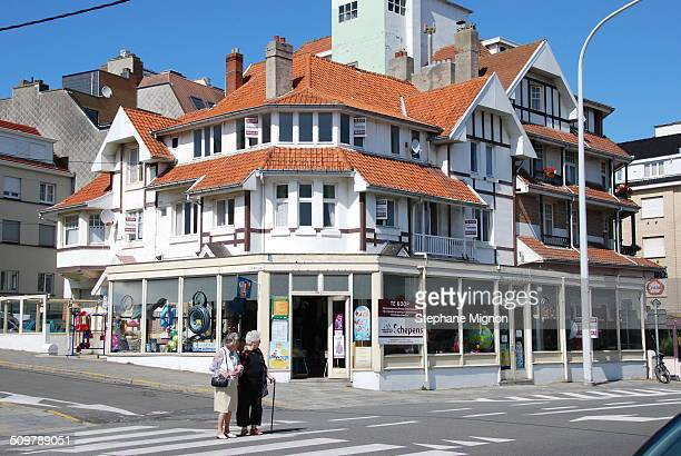 Formerly bourgeois villa this type of housing has been enlarged or modified to make housing rentals and shops