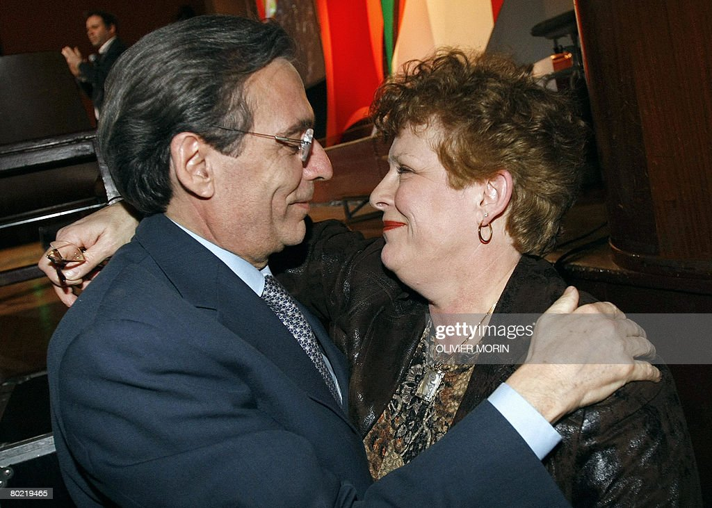 Catherine Hug formers socialist mayors of strasbourg r pictures getty images