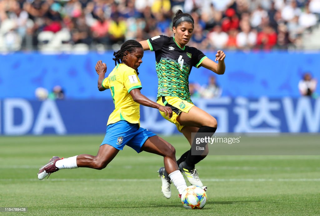 Brazil v Jamaica: Group C - 2019 FIFA Women's World Cup France : News Photo