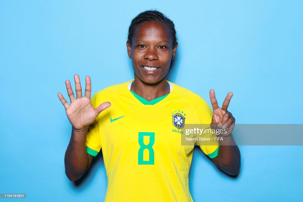 Brazil Portraits - FIFA Women's World Cup France 2019 : ニュース写真