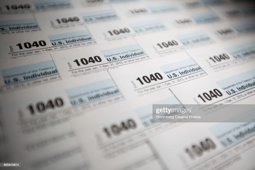 1040 Forms : Stock Photo
