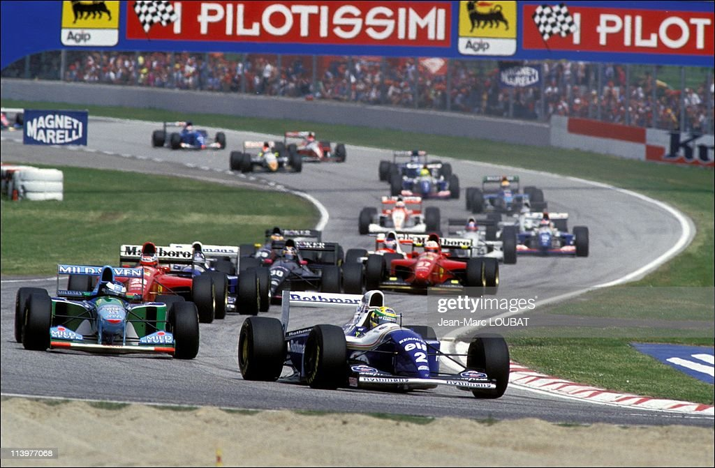 Formula 1/ accident of Ayrton Senna in Imola, Italy on May 01, 1994- : News Photo