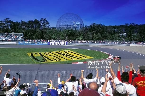 Formula 1, Grand prix in Canada, victory of Jean Ales in Montreal , Canada on June 10, 1995-Jean Alesi.