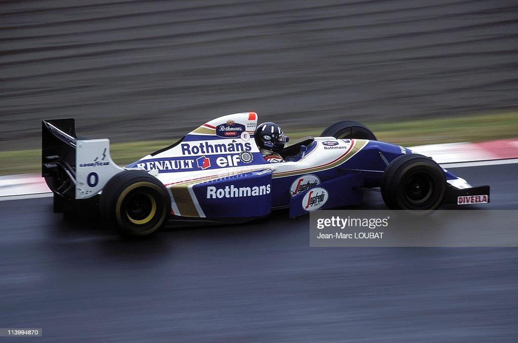 Formula 1: Japan Grand Prix in Japan on November 06, 1994- : News Photo