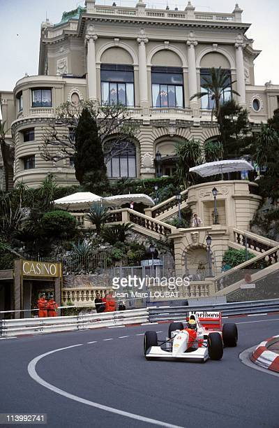 Formula 1 of Monaco Grand prix victory of Senna in Monaco Monaco on May 23 1993