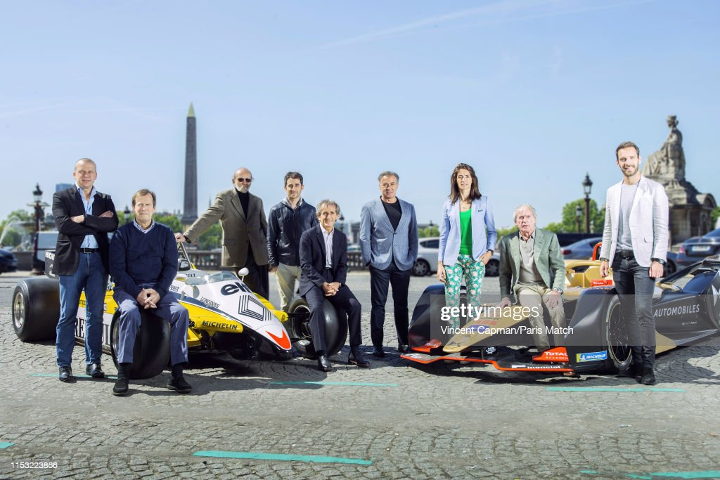 F1 Drivers, Paris Match Issue 3658, June 26, 2019 : News Photo