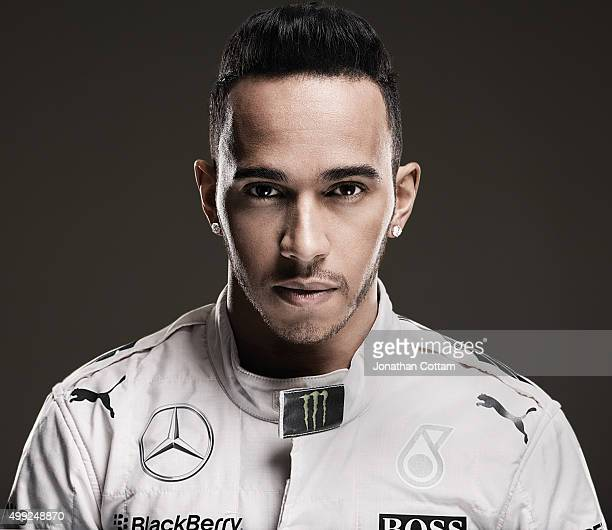 Formula 1 racing driver Lewis Hamilton is photographed on March 2 2015 in London England