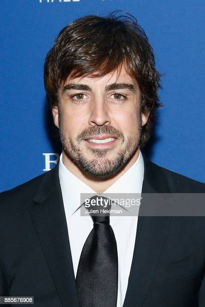 Formula 1 World Champion Fernando Alonso attends the FIA Hall of Fame Induction ceremony at Automobile Club De France on December 4 2017 in Paris...