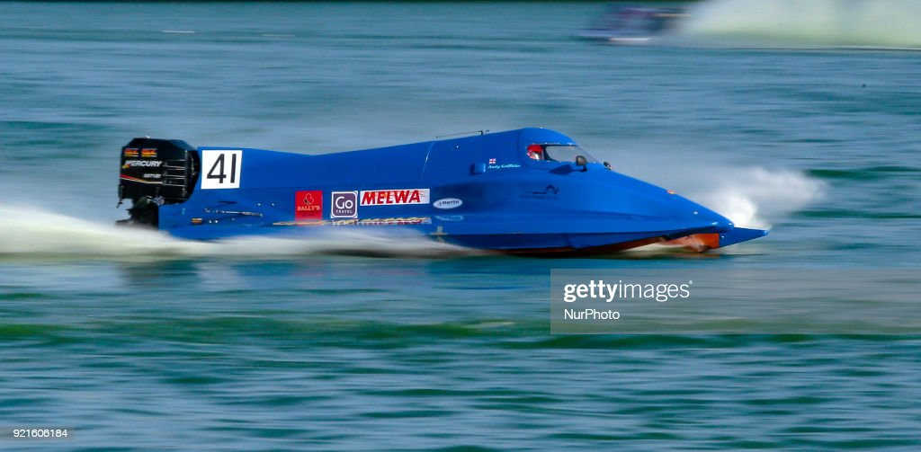 Formula 2 Powerboat race in Colombo