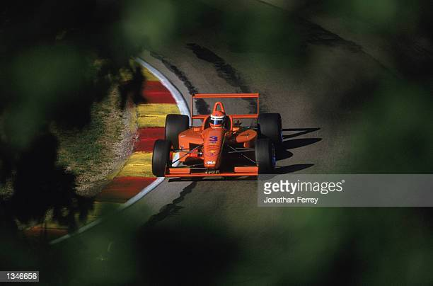 Formula Atlantic driver David Wieringa drives one of the identical Reynard Dodge V6s during the Toyota Atlantic Championship Round 10 for the...