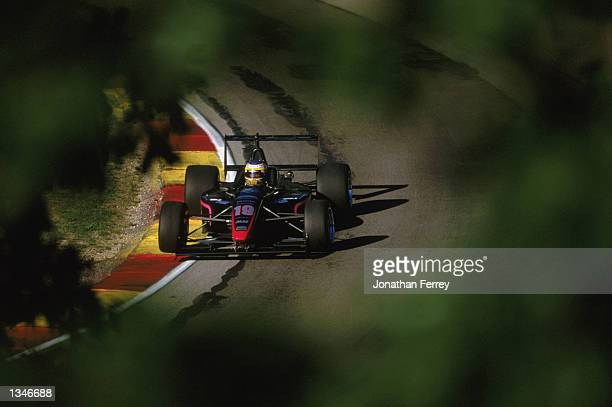 Formula Atlantic driver Michael Valiante drives one of the identical Reynard Dodge V6s during the Toyota Atlantic Championship Round 10 for the...