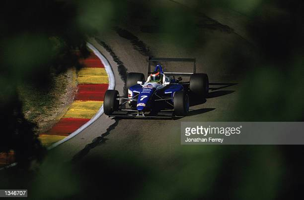 Formula Atlantic driver Nicolas Rondet drives one of the identical Reynard Dodge V6s during the Toyota Atlantic Championship Round 10 for the...
