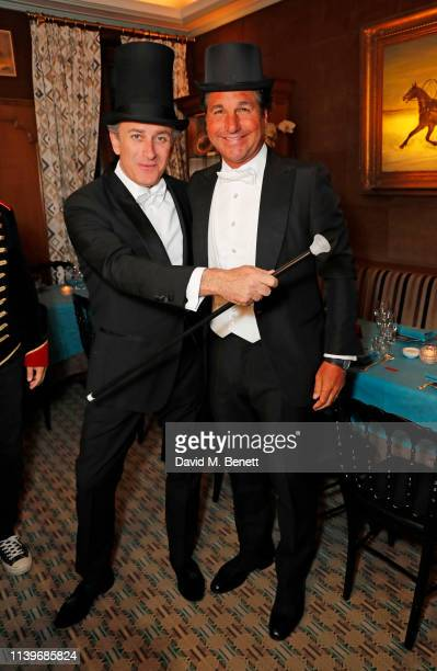 Formula E CEO Alejandro Agag and Giorgio Veroni celebrate a successful 2019 ABB FIA Formula E Paris EPrix with an intimate 'Moulin Rouge' inspired...
