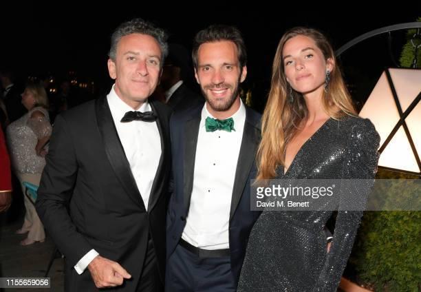 Formula E CEO Alejandro Agag Formula E racing driver JeanEric Vergne and Lorene Renard attend the 2018/19 ABB FIA Formula E Championship Awards...