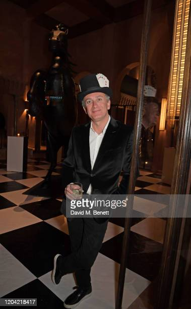 Formula E Chairman Alejandro Agag attends The ABB FIA Formula E Mad Hatters Moroccan Tea Party in celebration of the 2020 Marrakesh EPrix at the...