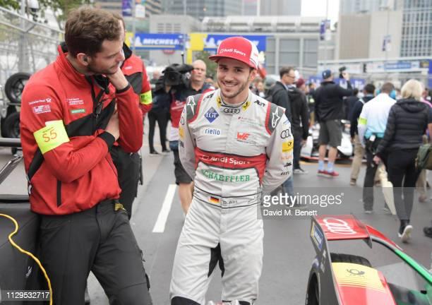 Formula E racing driver Daniel Abt attends the ABB FIA Formula E HKT Hong Kong EPrix on March 10 2019 in Hong Kong