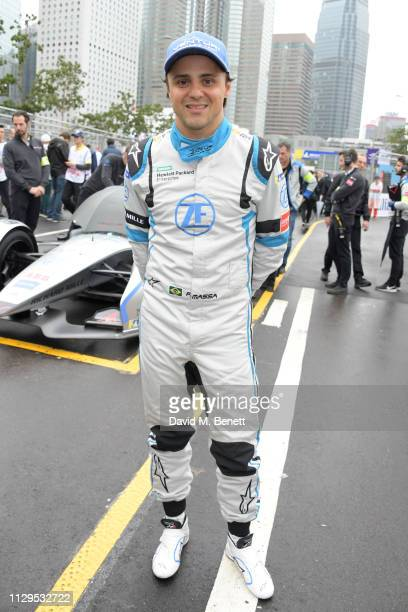 Formula E racing driver Felipe Massa attends the ABB FIA Formula E HKT Hong Kong EPrix on March 10 2019 in Hong Kong