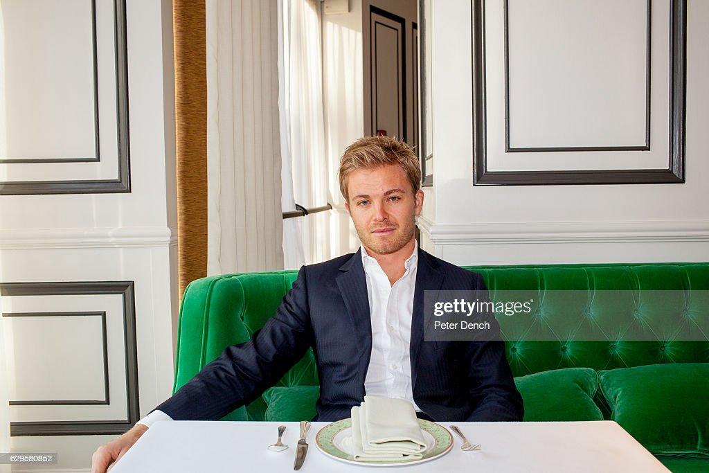 Formula One Racer Nico Rosberg Portrait
