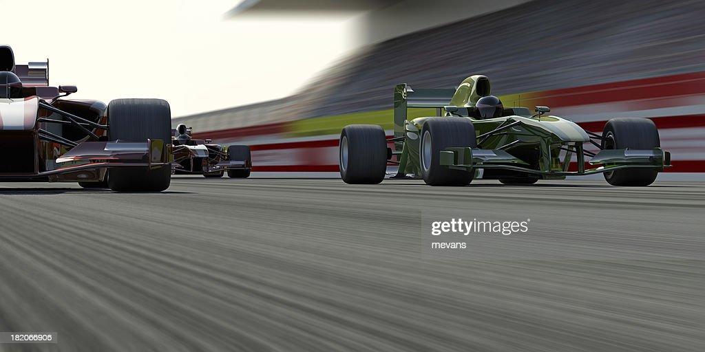 Formula One Race : Stock Photo