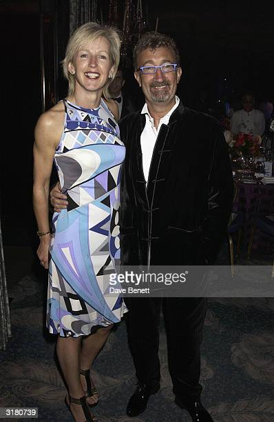 Formula One team owner Eddie Jordan and his wife Marie attend the UK FIFI Fragrance Awards in aid of the Teenage Cancer Trust at the Dorchester Hotel...