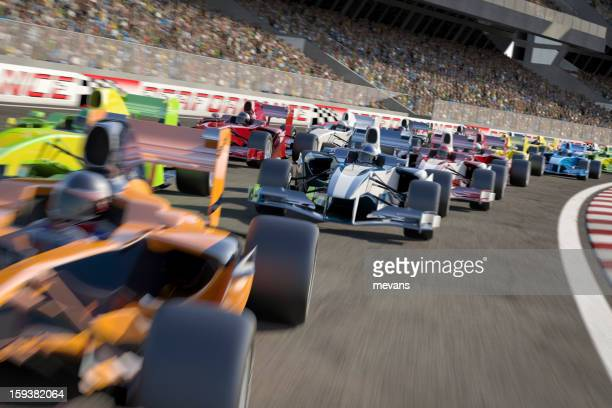formula one type racing - sports race stock pictures, royalty-free photos & images